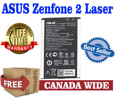 New OEM Replacement ASUS Zenfone2 Laser Battery 3000mAh 11CP5/53/76(1/CP4/64/77)