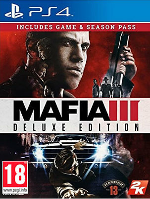 Mafia III Deluxe Edition - PS4 - New & PS4 Sealed