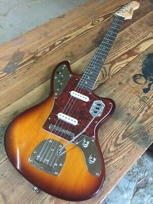 New 12 String Semi-Hollow Thinline Style Electric Guitar Black Gold Hardware
