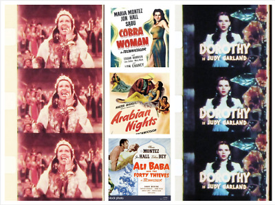 "Super 8mm Films (8 Full Trailers) ""MARIA MONTEZ MOVIES"" and ""WIZARD OF OZ"" (LPP)"