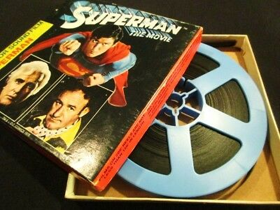 Super 8mm Sound Film: SUPERMAN: THE MOVIE (1978) Christopher Reeve - 200 ft