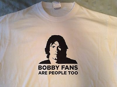 Bobby Fans Are People Too T-SHIRT Grateful Dead Jerry Garcia Bob Weir & Company