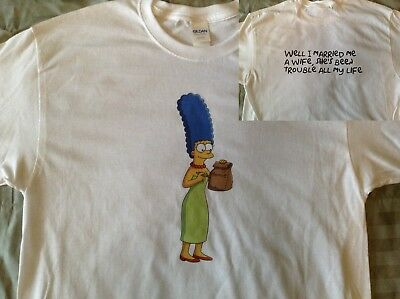 Marge Simpson Grateful Dead T-SHIRT Bob Weir Jerry Garcia Phil Lesh Homer Bart
