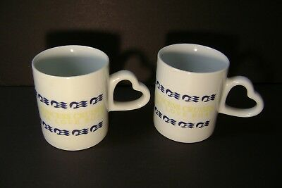 "2 Princess Cruises  ""the Love Boat""  Coffee Mugs"