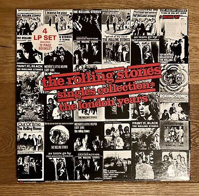 The Rolling Stones, Singles Collection, The London Years,abkco Records, 4 Lp-Box