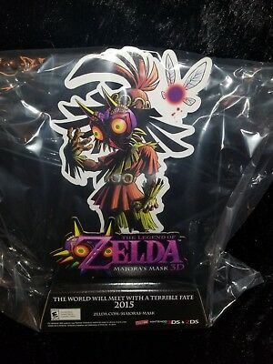 The Legend of Zelda Majora's Mask Link Skull Kid Figure Store Sign Display Promo