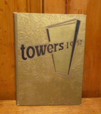 Towers - Loyola University College Of Commerce Yearbook 1957 - Chicago Il