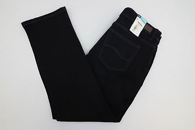 New Lee Niagara Womens Petites Total Freedom Eased Fit Dark Jeans MULTIPLE SIZES