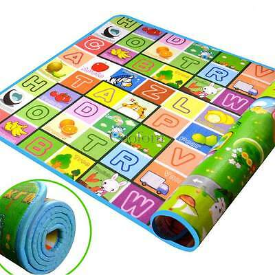 Baby Kid Toddler Crawl Pad Play Game Letter Alphabet Mat Carpet Picnic PROF