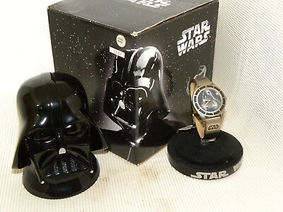 Star Wars Darth Vader Fossil Watch LI-1625 PURCHASED IN 1997 MIB NEVER WORN.