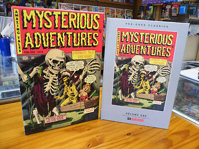 Ps Artbooks, Mysterious Adventures Vol 1 2018 Hardcover 1St