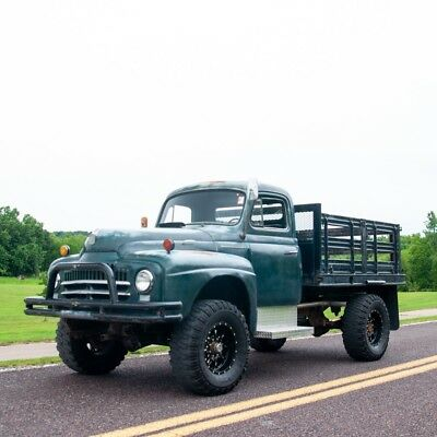 1951 Other Makes L-162 4x4 Stake Bed Truck 1951 International-Harvester L-162 4x4 Stake Bed Truck