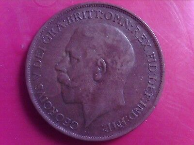 Great   Britain  One   Penny    1912   Dec13