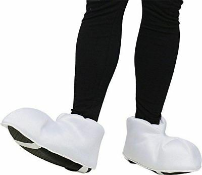 Fun World Costumes - White Cartoon Feet (Adult Shoe Covers)
