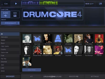 New Sonoma DrumCore 4 Lite VST AAX AU Plug-in for 64-Bit DAWs 4 Gigs eDelivery