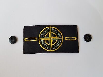 Badge Stone Island + Bottoni