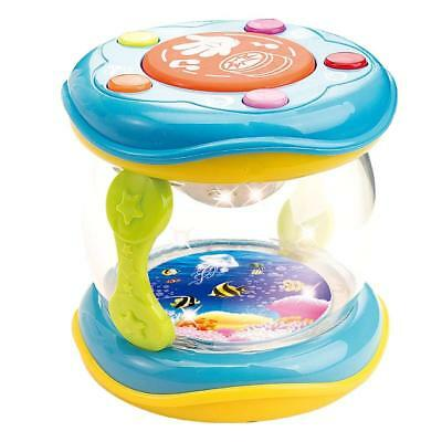 Musical Kids Drum Child Colourful Music Toy Toddler Educational Play Baby Lights