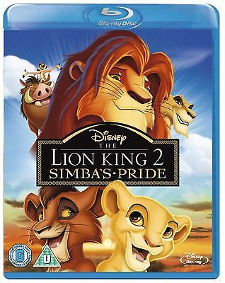 The Lion King 2 Simba's Pride Blu-Ray New Region B