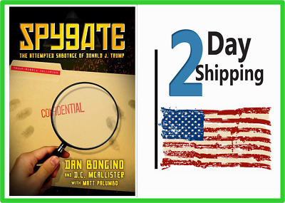 Spygate: The Attempted Sabotage of Donald J. Trumps Hardcover - Fast  Shipp