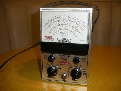 EICO VTVM Model 232, Ham Radio Estate, Excellent Condition!!