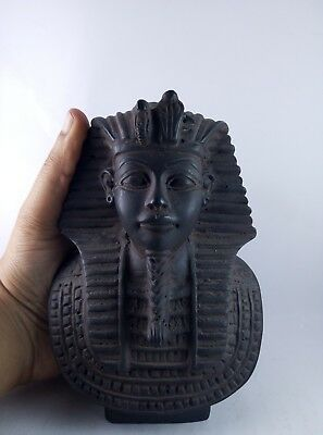 RARE ANCIENT EGYPTIAN STATUE Egypt Pharaoh King Tutankhamun Stone Bc