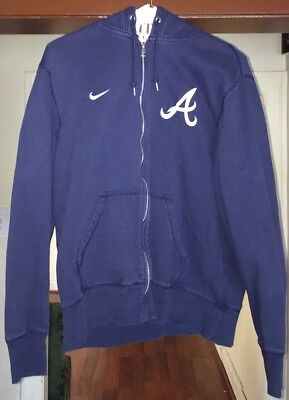 newest collection 2f7e9 fb19a NIKE NAVY BLUE Atlanta Braves