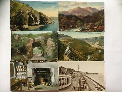 Collection of 10 Old UK Postcards Blackpool, Black Rock Caves Killarney etc (23)