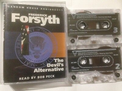 "Frederick Forsyth ""The Devil's Alternative"" Twin Cassette Audio Book"