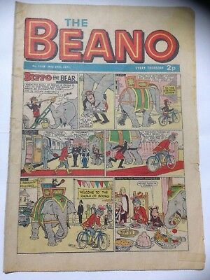 DC Thompson THE BEANO Comic. Issue 1506 May 29th 1971 **Free UK Postage**