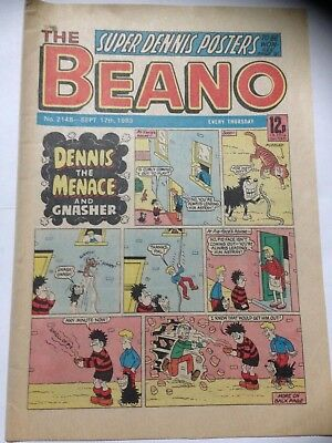 DC Thompson THE BEANO Comic. Issue 2148 September 17th 1983 **Free UK Postage**
