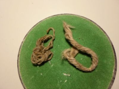 """Arizona"" (ARCHAIC)-COTTON CORD REMNANT(S) (cot-1), INDIAN ARTIFACTS"