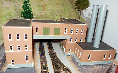 N SCALE What Was My Hand Painted Power Station - no box