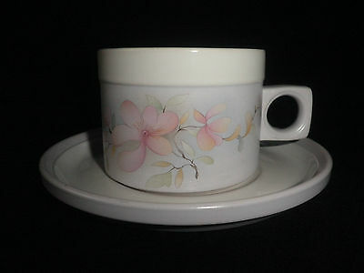 Vintage Hornsea Romantic Cup And Saucer Excellent Condition