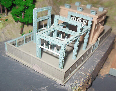 N SCALE Substation to the Power Station - no box