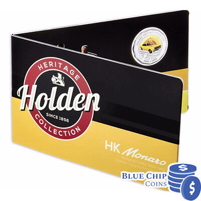 2016 UNC 50c HOLDEN HERITAGE COLLECTION HK MONARO COIN ON CARD