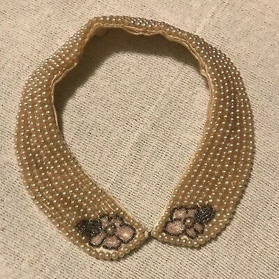 Vintage Beaded Woman's Collar