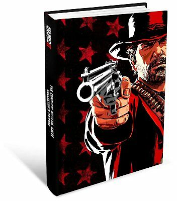 Red Dead Redemption 2 II The Complete Official COLLECTOR'S Edition Guide PS4 XB1