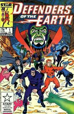 Defenders of the Earth #1 in Very Fine + condition. Marvel comics [*0b]