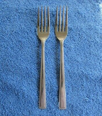 Supreme Cutlery Stainless Korea Dinner Forks Made by Towle