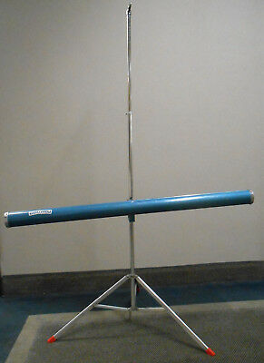 Brilliant Vintage Screen Case & Tripod for Art or Halloween Prop Photo Parts