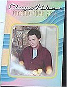 Clay Aiken! 2005 Jukebox Tour Book New Condition Rare