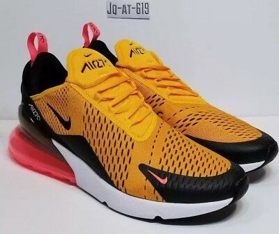 Nike Air Max 270 Tiger Black University Gold Hot Punch AH8050-004 Size 13