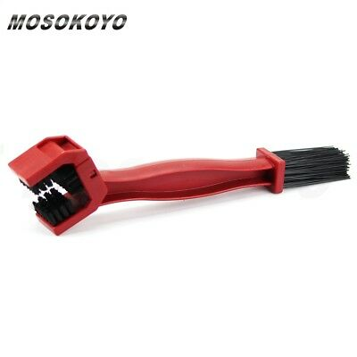 Motorcycle Bike Chain Wheel Gear Cleaner Wash Scrubber Brush Set Cleaning Kit