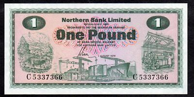 1 Pound From Ireland Unc