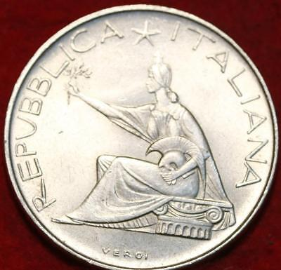1961 Italy 500 Lire Silver Foreign Coin