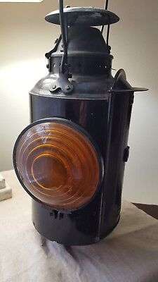 Canadian National Railway CNR Railroad Kerosene Switch Lantern Piper Montreal