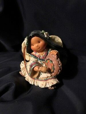 """Friends of the Feather enesco vintage figurine """"Rhythm With Spirit"""""""