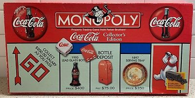 Coca-Cola Monopoly Collectors Edition Board Game