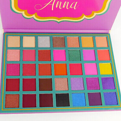 Beauty Creations Anna Eyeshadow Palette Shades Highly Pigmented Color Shimmery