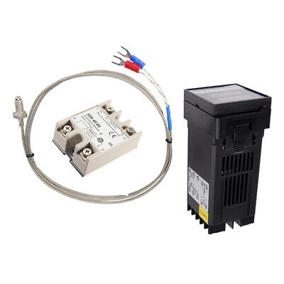 REX-C100 PID Digital Temperature Control Controller Thermocouple 0 to 400℃